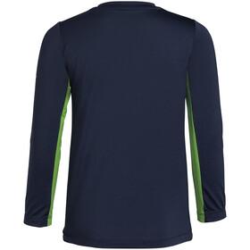 VAUDE Solaro LS T-Shirt II Kids, groen/blauw